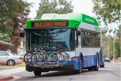 GCTD Bus with cycles