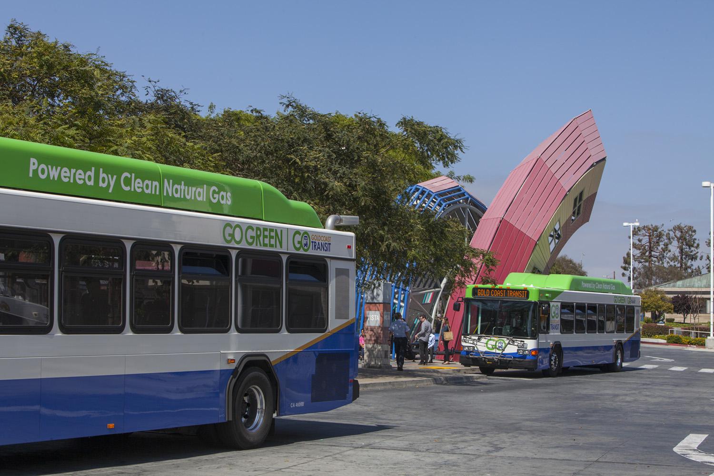 GCTD buses at VTC